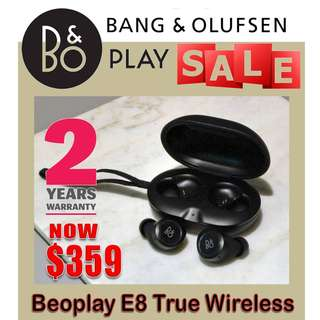B&O Beoplay E8 True Wireless Earphones (2 year warranty)