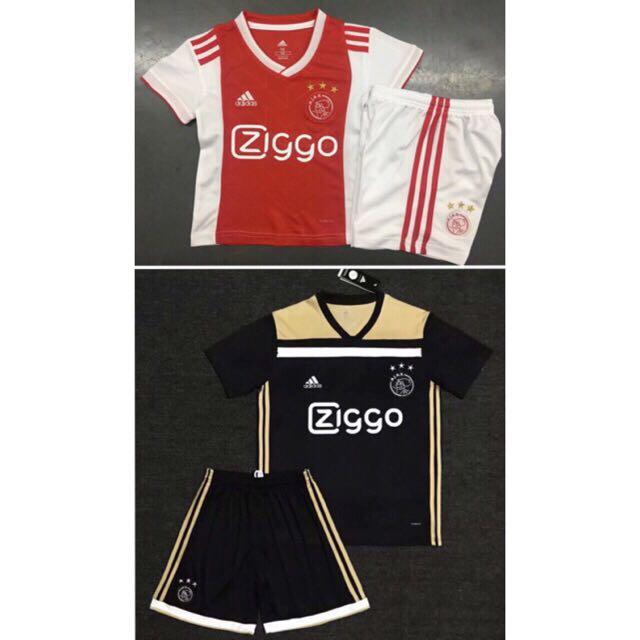 099932014 18 19 Ajax FC Kids jersey