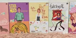 5pcs Chicklit Novels (Third Wave)