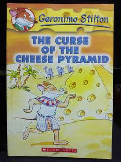 The Curse of the Cheese Pyramid Geronimo Stilton