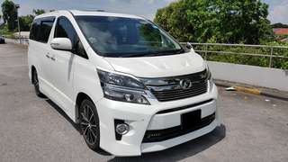 Toyota Toyota Vellfire For Lease ! $3200 / month ! 2 Year contract ! 1 month deposit plus 1 month rental to Drive away ! Cheapest in the market !