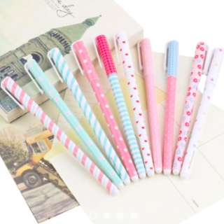 Pre-Order [ 10Pcs Watercolor Gel Pen ]