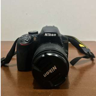 NIKON D3400 with AF-P DX NIKKOR 18-55mm VR Lens, AF-S DX NIKKOR Micro 85mm F3.5G ED VR Lens