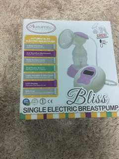 Single breast pump