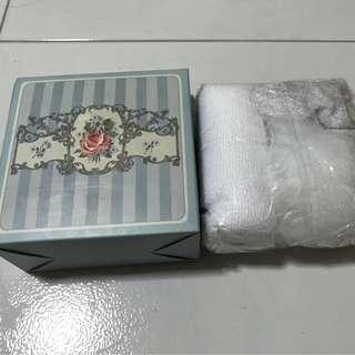 Brand New Shower Cap And Small Towel