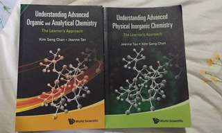 GCE A Level H2 Chemistry Textbooks