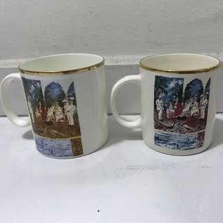 Vintage Le Meridian 1988 -1998 Vintage Cups