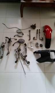 Rxz spare parts