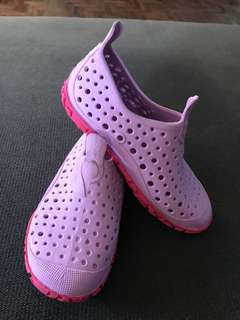 Pink Aqua shoes fit for 3-5 years old