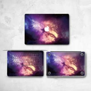 Galaxy Swirls Macbook Vinyl Decal