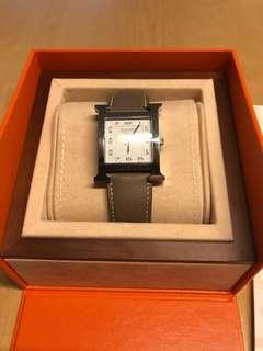 Hermes Heure H watch 26mmx26mm