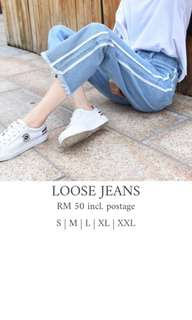 Two-Lined Jeans