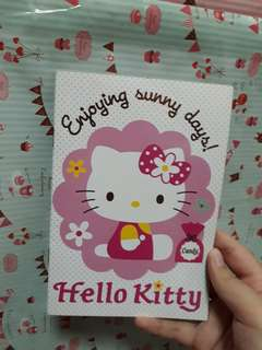 Helli Kitty A5 Thin Notebook