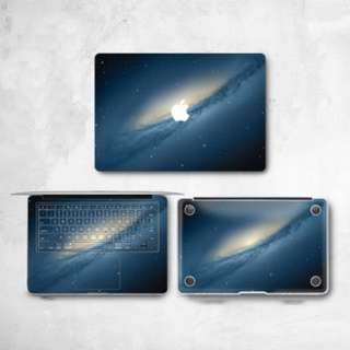 Blue Galaxy Milky Way Macbook Vinyl Decal