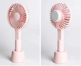 Mini Fan w/ Bluetooth Speaker