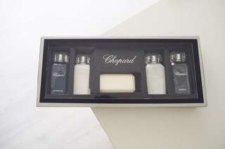BNIB Chopard Toiletries Gift Set