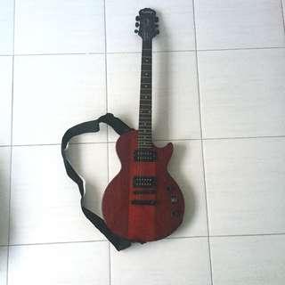 Gitar Listrik Merah