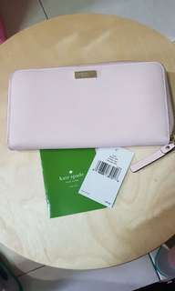 BRAND NEW! Kate Spade Baby Pink Wallet