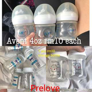 Avent Bottle storage bottle 4oz