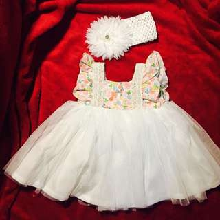 Baptismal reception dress