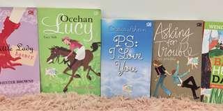 5pcs Chicklit Novels (Fourth Wave)