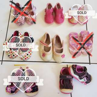 Sale sepatu anak.Buy 1@30rb. Buy 2 or more @25rb