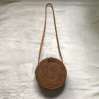 Round Rattan Bag - from Bali