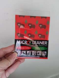 Microfiber cleaninh cloth
