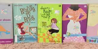 5pcs Body Issue Chicklit Novels