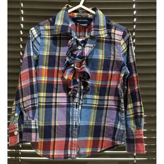 Chekered Polo for girls