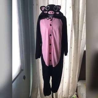 PIG ONESIE COSPLAY COSTUME