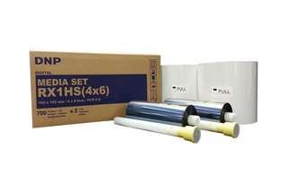 """DNP DS-RX1 HS 4""""x6"""" Paper & Ribbon Kit, 700 Pr…"""