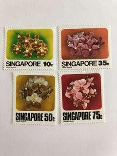 Singapore 1979 Orchids mnh