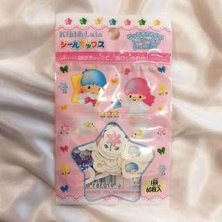Little Twin Stars 貼紙60個(Sanrio)