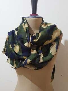 Army scarf green