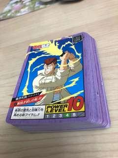 幽遊白書 戰鬥 2彈 37張 白卡 欠 #60