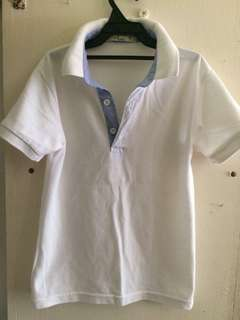 Justees White Polo shirt