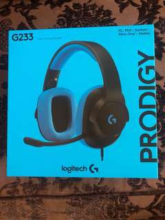 Brand New Logitech Wired Gaming Headset G233(sealed)