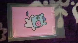 #July100 Readystock BT21 Mang Folding Card Holder