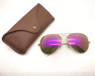 ray ban RayBan RB3025 鏡面 rb3025 58mm 62mm size made in Italy brand new full packages original polarized $990