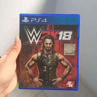 CD Game WWE 2018 PS 4