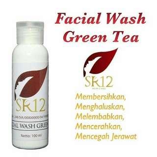 Facial wash grean tea