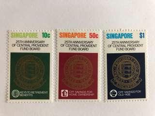 Singapore 1980 CPF mnh