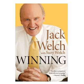 Winning by Jack Welch with Suzy Welch