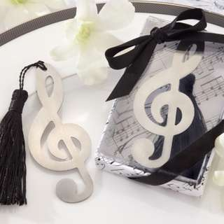 Stainless Steel Wedding Gift Bookmark 2