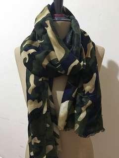 army scarf ( REJECT ) ada defect garis spr di foto