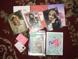 TWICE TV & Concert merchandise
