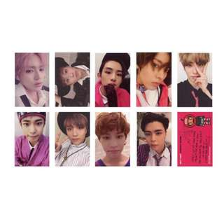 NCT 127 Cherry Bomb Unofficial / Duplicate / Replica Photocards / Photocard / Pc