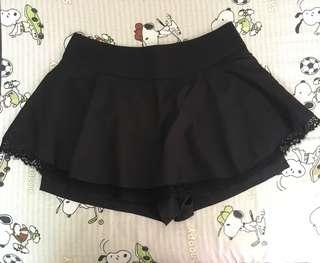 Black Lace Skort #July70