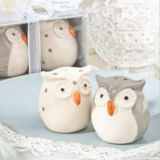 Salt and Pepper Wedding Gift Set